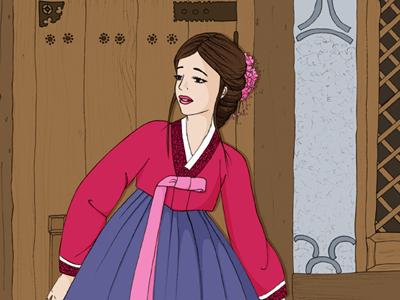 hanbok_scilyam_illustration